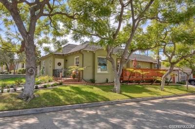 San Diego Single Family Home For Sale: 4009 S Hempstead