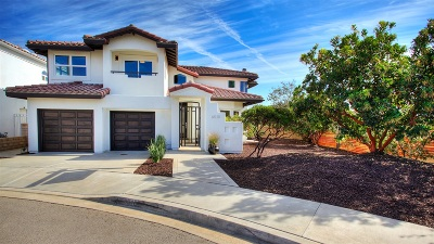 Carlsbad Single Family Home For Sale: 6510 Franciscan Rd