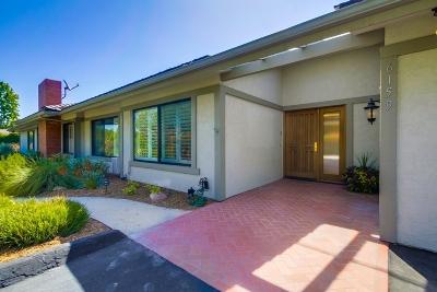 Rancho Santa Fe Rental For Rent: 6159 Paseo Delicias