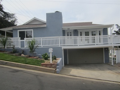 Escondido Single Family Home For Sale: 425 S Fig St