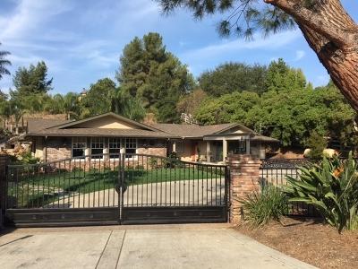Fallbrook Single Family Home For Sale: 2720 Los Alisos Drive