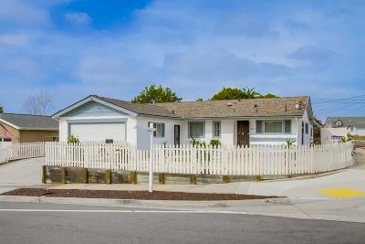 Clairemont, Clairemont East, Clairemont Mesa, Clairemont Mesa East Single Family Home For Sale: 3856 Auburndale St