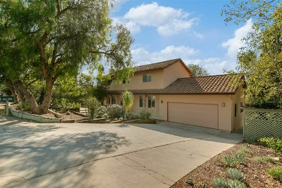 Fallbrook Single Family Home For Sale: 2725 Alta Vista Dr