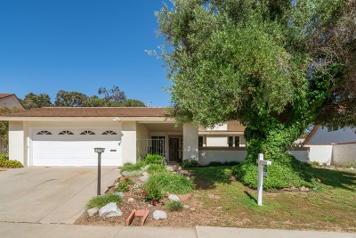 San Diego Single Family Home For Sale: 17835 Frondoso Dr