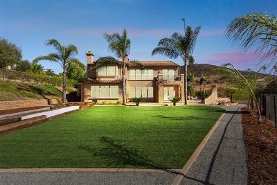 Vista Single Family Home For Sale: 845 Vista Point Cir