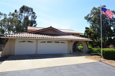 Single Family Home For Sale: 3154 Miramontes Road
