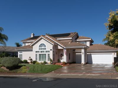 Fallbrook Single Family Home For Sale: 1265 Calle Sonia