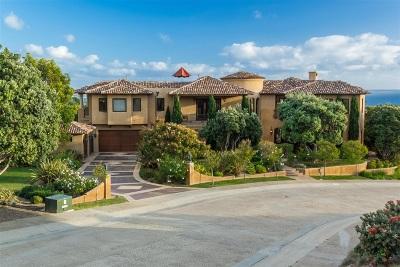 La Jolla Single Family Home For Sale: 1205 Skylark Drive