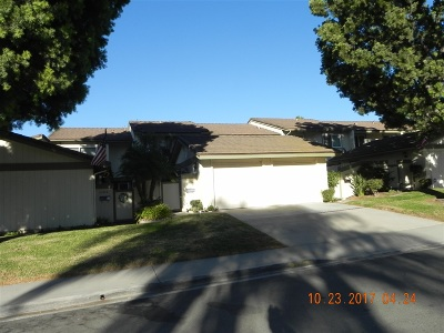 San Diego County Townhouse For Sale: 11416 Matinal Cir
