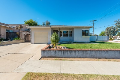 La Mesa Single Family Home Back On Market