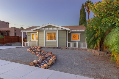 Norma Heights, Normal Heights Single Family Home For Sale: 4769 E Mountain View Drive