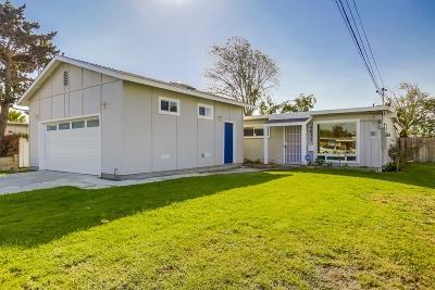 Single Family Home For Sale: 4831 Conrad Avenue