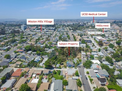 San Diego Residential Lots & Land For Sale: Bush St 35 & 36 #35 & 36