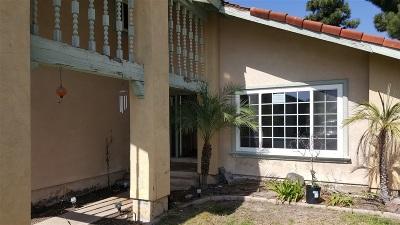 Chula Vista Single Family Home Contingent