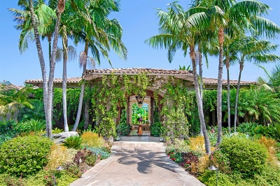 Rancho Santa Fe Single Family Home For Sale: 6424 La Valle Plateada