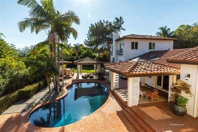 La Jolla Single Family Home For Sale: 6364 La Pintura Drive