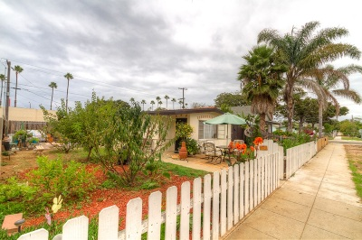 Oceanside Multi Family 2-4 For Sale: 407 S Freeman St.