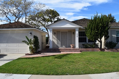 Point Loma Single Family Home For Sale: 1838 Narragansett Court