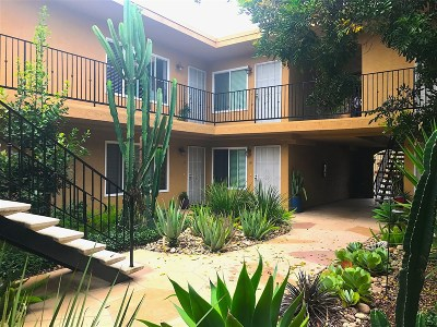 San Diego Attached Pending: 4378 Idaho St #12