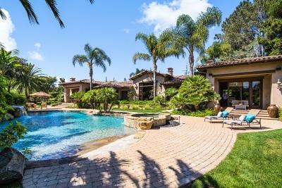 Rancho Santa Fe Single Family Home For Sale: 17323 Via De Fortuna