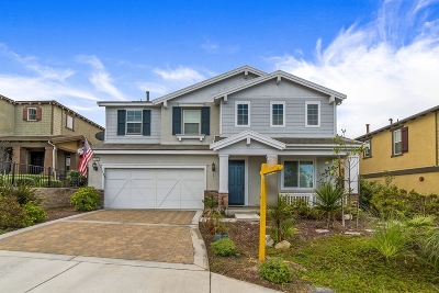 San Marcos Single Family Home For Sale: 3431 Arborview Drive