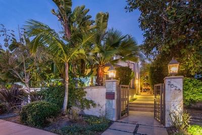 Single Family Home For Sale: 2625 Camino Del Mar