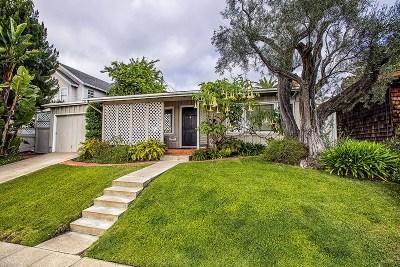 La Jolla Single Family Home For Sale: 7309 Fay Ave