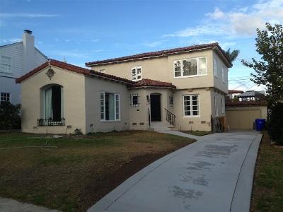 Point Loma Rental For Rent: 3514 Dumas