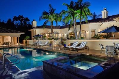 Rancho Santa Fe Single Family Home For Sale: 17547 Avenida Peregrina