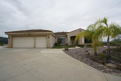 Fallbrook Single Family Home For Sale: 3606 Nettle Pl