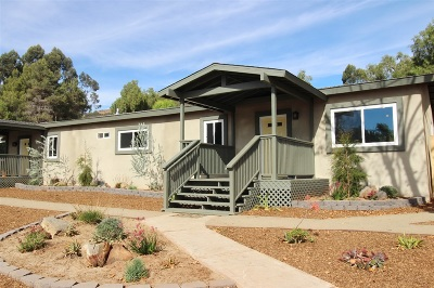Escondido Multi Family 2-4 For Sale: 1767 Foothill View Pl
