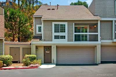 San Diego Townhouse For Sale: 3753 Balboa Terrace #Unit A