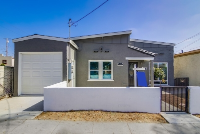 Single Family Home For Sale: 1023 D Avenue