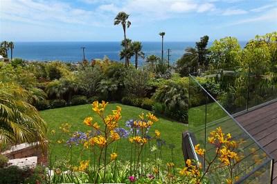 La Jolla Single Family Home For Sale: 941 Newkirk Dr