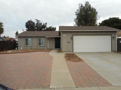 Single Family Home For Sale: 8627 Ian Way