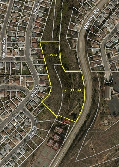 San Diego Residential Lots & Land For Sale: Waring Road #13