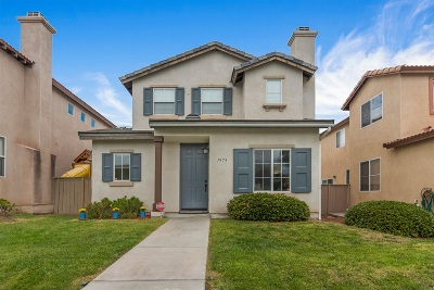 Chula Vista Single Family Home For Sale: 1975 Parker Mountain Rd