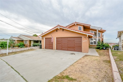 San Diego Single Family Home For Sale: 2422 56th St.