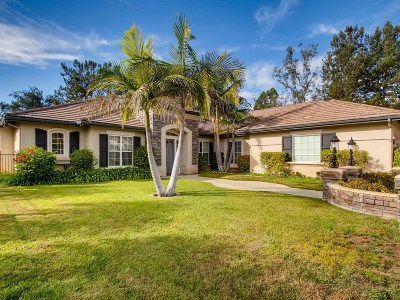 Single Family Home For Sale: 2261 Villa Verde Road