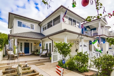 Coronado Single Family Home For Sale: 1021 Flora Ave