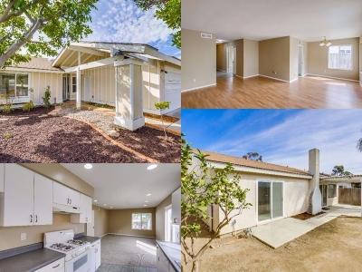 Clairemont Single Family Home For Sale: 4924 Cannington Dr