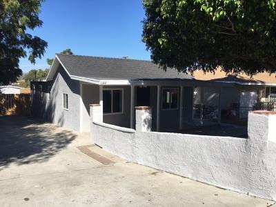 Escondido Single Family Home For Sale: 1144 E 4th
