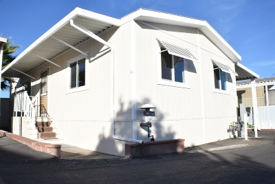San Marcos Mobile/Manufactured For Sale: 1515 Capalina Rd #25