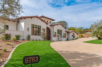 Rancho Santa Fe CA Single Family Home For Sale: $5,295,000