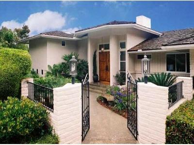 La Jolla Single Family Home For Sale: 1604 El Paso Real