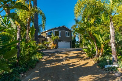 Oceanside Single Family Home For Sale: 1780 Troy Ln