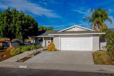 San Diego Single Family Home For Sale: 6460 Oakridge Road