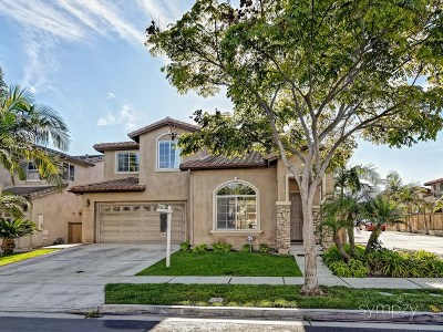 Chula Vista Single Family Home For Sale: 1184 Tristan River Rd.