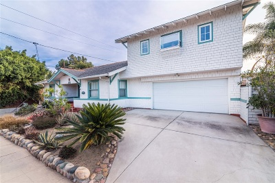 San Diego Single Family Home For Sale: 2873 Upas St
