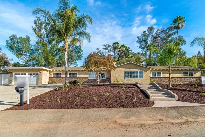 Single Family Home For Sale: 2054 Oro Verde Rd